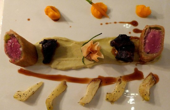 Alte Pfarrey: Das Beste vom Weidkalb (Bäckchen, Bries und Filet)