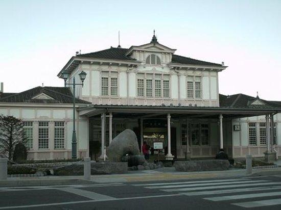 Nikko station hotel classic: 日光ステーションホテルクラシックから見たJR日光駅
