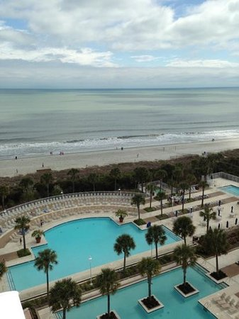 Myrtle Beach Marriott Resort & Spa at Grande Dunes: view from our room