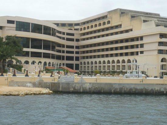 Hotel Excelsior Grand Hotel Malta - van op het water