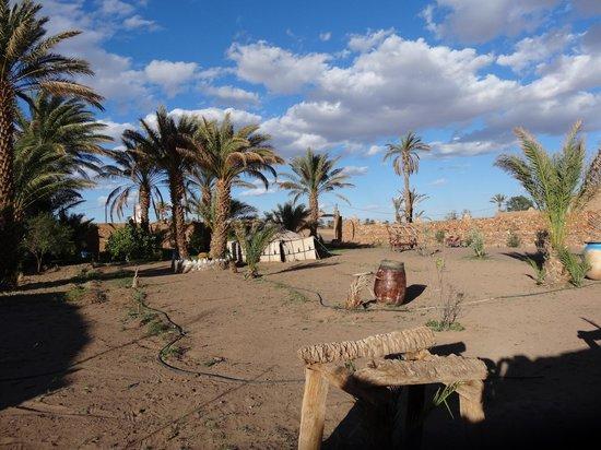 Les jardins de Tazzarine: Le campement