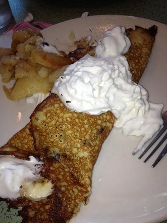 Pamela's: chocolate chip banana hotcakes