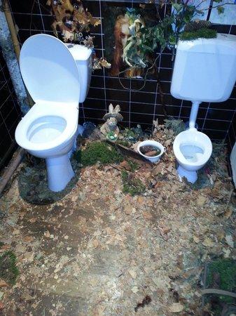 La cotelette: spit and sawdust toilet (Very Clean)