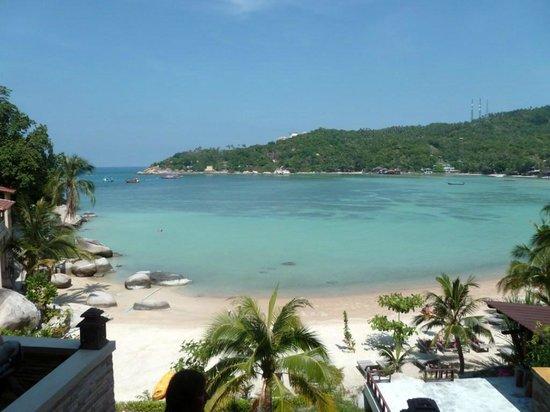 Taa Toh Lagoon Diving Resort : Vue depuis la réception