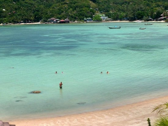Taa Toh Lagoon Diving Resort : Plage hotel