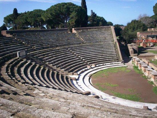 Ostia Antica: anfiteatro