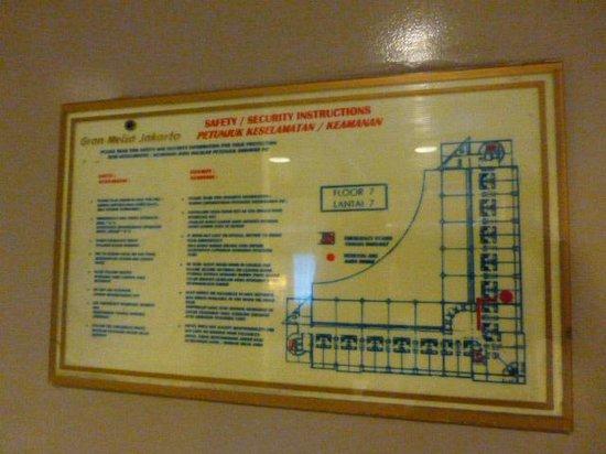 Manado Quality Hotel: Floor plan