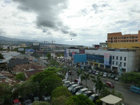 Manado Quality Hotel: View from the window