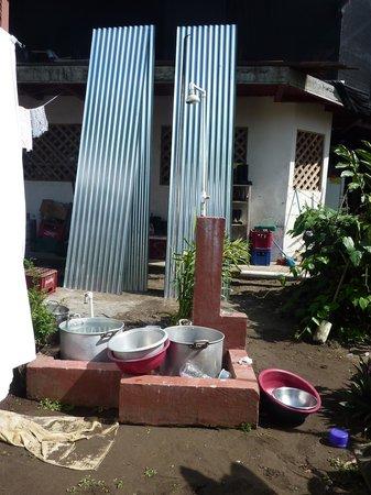 La Casona: Detalle del suministro de agua