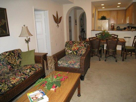 Caribe Cove Resort Orlando: living