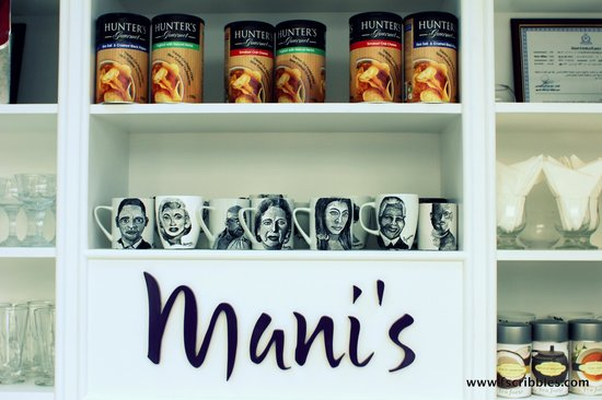 Mani's Gourmet Cafe : Mani's Cafe