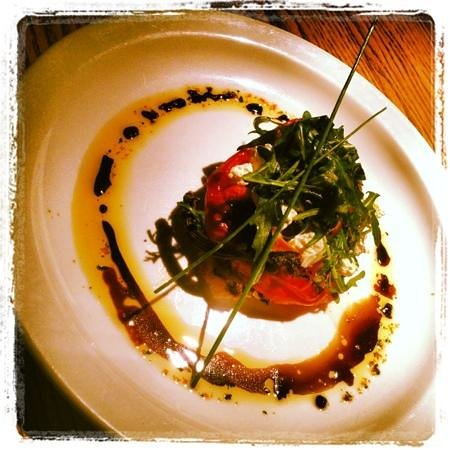 The Anchor Inn: roasted pepper starter