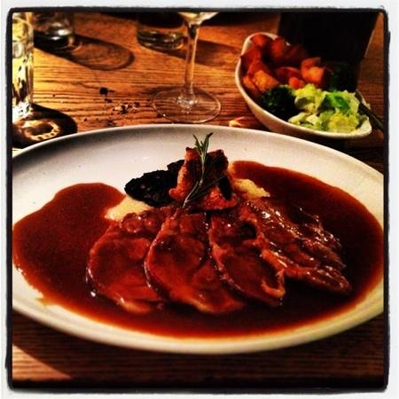 The Anchor Inn: shoulder of pork with cider sauce