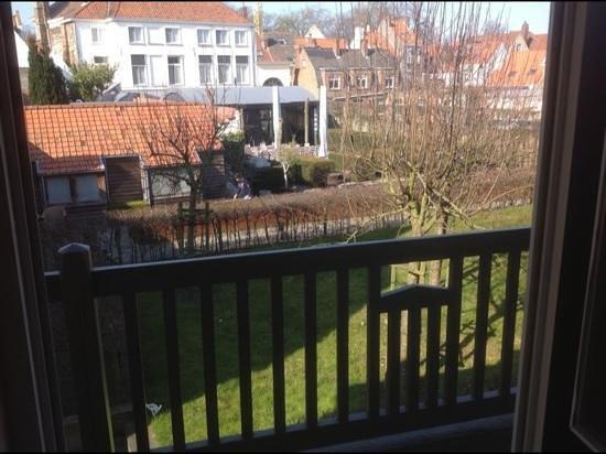 Hotel Montanus: vue de ma chambre