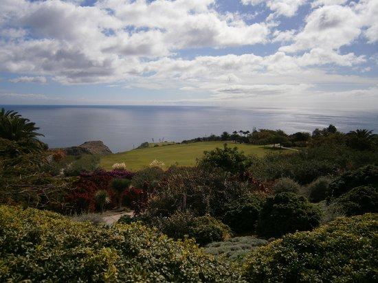 Hotel Jardin Tecina: Blick vom Golfplatz