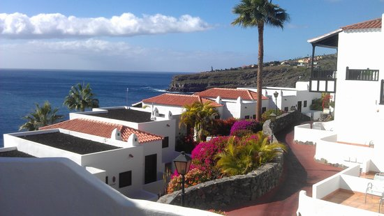 Hotel Jardin Tecina: Blick in die Hotelanlage