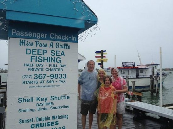 Merry Pier: Still smiling even after 2 hours in the rain. Great family memories. Thanks!