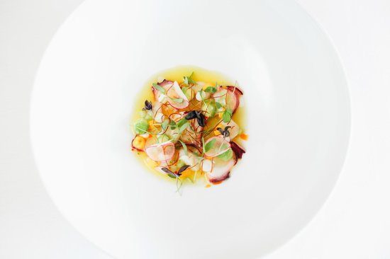 Persimmon Restaurant: Scallop and octopus ceviche