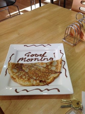 The Chocolate Boutique Hotel: breakfast