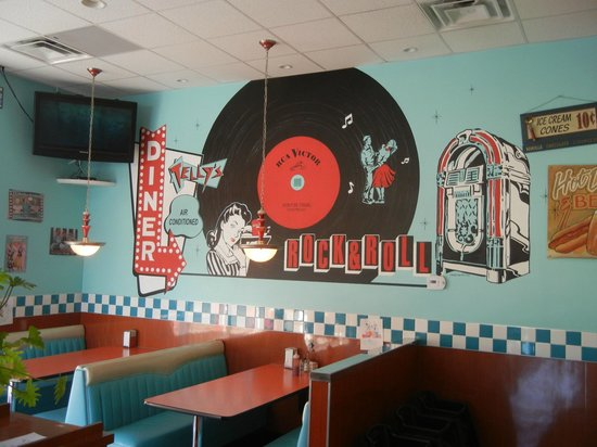 Telly's Drive-In: A true nifty-fifties diner that is so much fun.