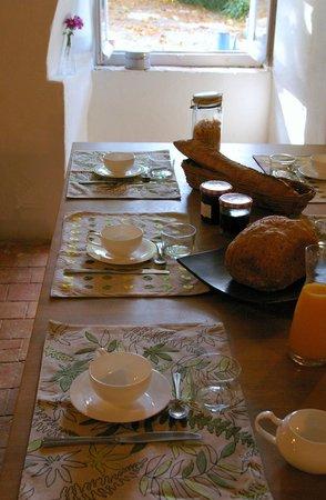 Le Prieuré : Petit déjeuner