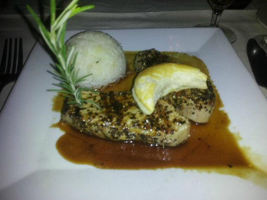 Chez daniel: The Peppered Tuna Special