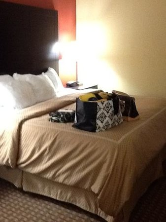 Comfort Suites Golden Isles Gateway Brunswick: bed