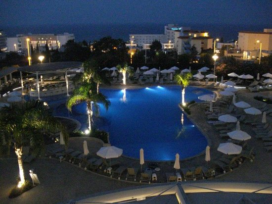 View From Our Room Picture Of Sunrise Oasis Hotel Protaras Tripadvisor