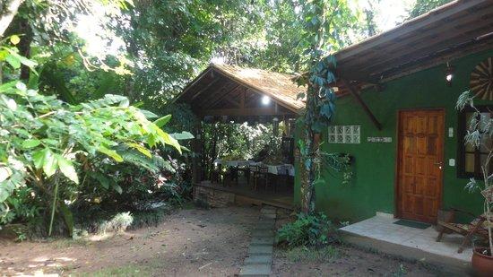 Pousada Ouro Verde: Breakfast area