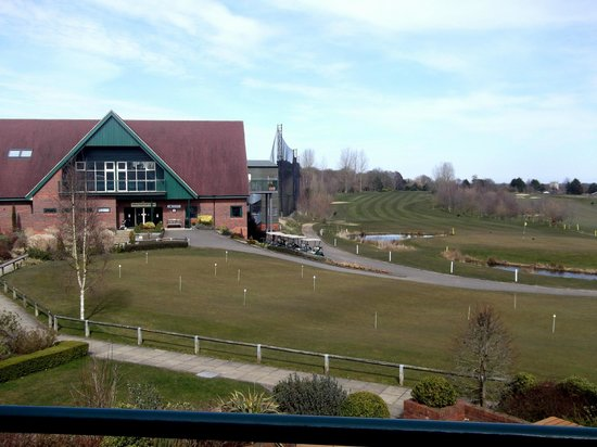 Ufford Park Woodbridge Hotel, Golf & Spa: view from balcony