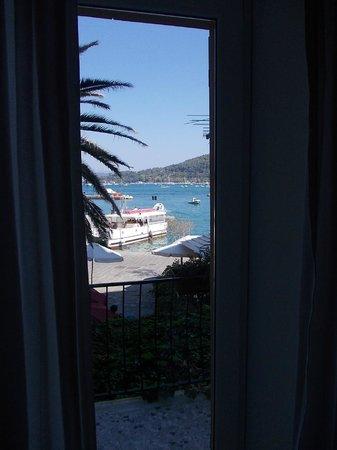 Affittacamere La Darsena : Vista mare dalla camera DOGE