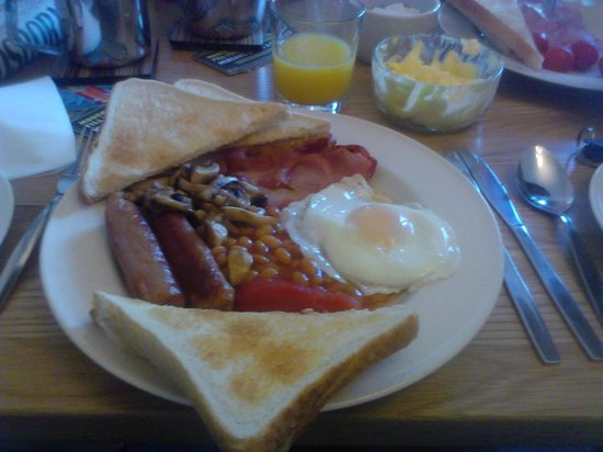 Devonia Lodge Guest House: Very nice british breakfast!!