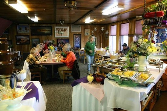 Captain Jack's Stronghold: Easter Buffet 2013