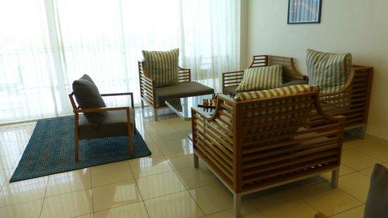 Anantara Kihavah Maldives Villas: Arrival lounge