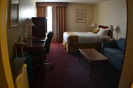 Ramada Edmonton International Airport: 1 queen bed room