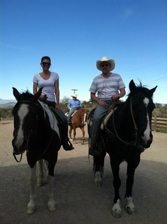 Flying E Ranch: Morning ride