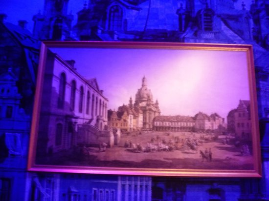 Panometer Dresden: An exhibit before you actually get to the heart of it all