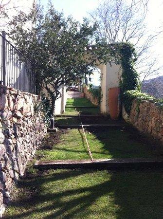 Hotel El Convent: jardín