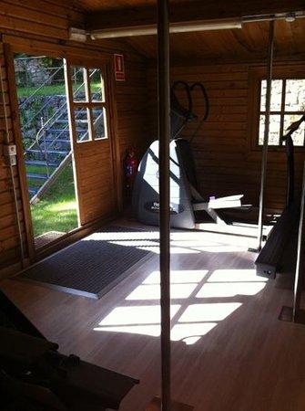 Hotel El Convent: gym