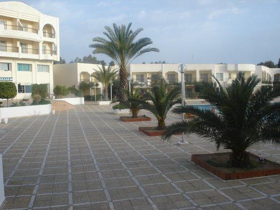 El Mouradi Gammarth: Cour intérieur