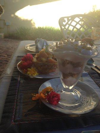Villa Tarentaal: breakfast