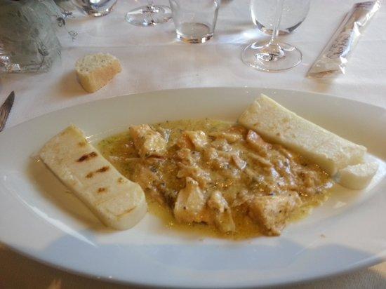 De Laura: Baccalà con polenta bianca