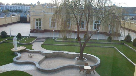 Hotel Samarkand Plaza: jardin