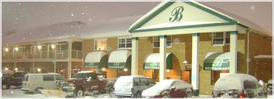 """Governor House Inn: Blizzards, Hurricanes, The """"B"""" never closes"""