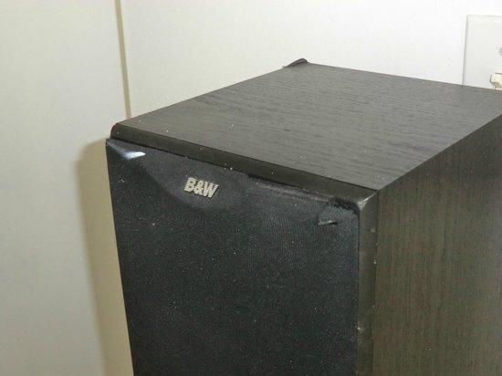 The Barbizon : Alte abgenutzte Boxen