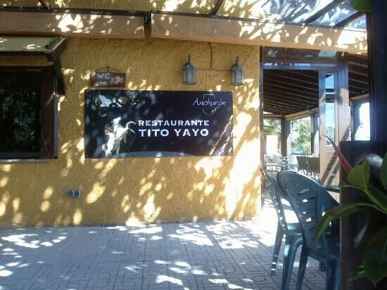 Restaurante Tito Yayo: name