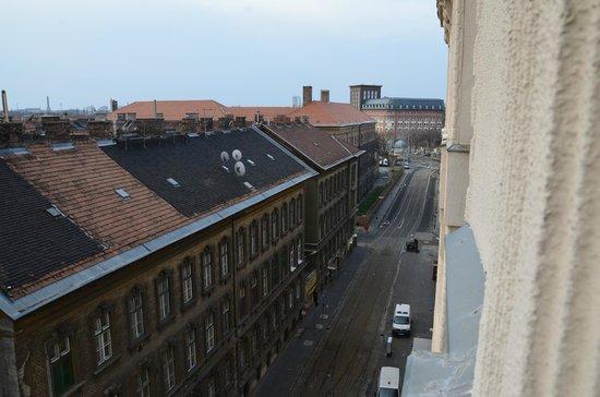 Novum Hotel Golden Park Budapest: Blick aus Zimmer 508