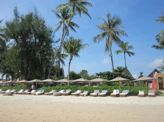 SALA Samui Choengmon Beach Resort : la plage