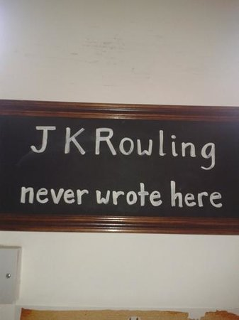 JK Rowling didn't write in Artisan Roast. She missed out on great coffee.