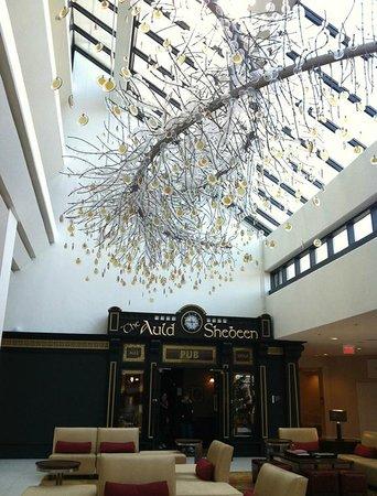 Hanover Marriott: lobby